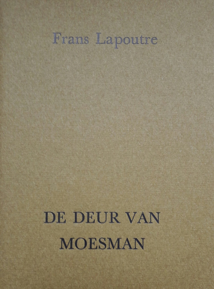 De deur van Moesman (1ste druk)